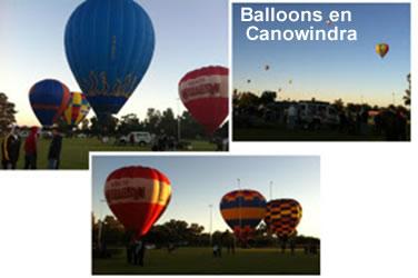 Balloons en Canowindra