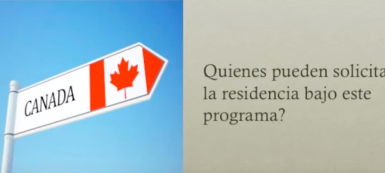 Residencia Permanente en Canadá por Razones Humanitarias