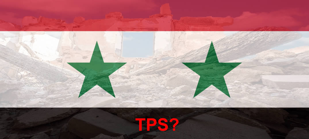Syria Is Not Redesignated For TPS, Despite Ongoing Armed Conflict