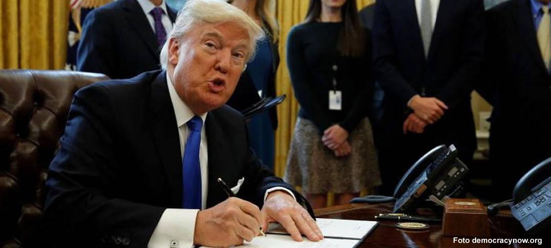 Donald Trump Implementa Primeras Medidas Severas de Inmigración