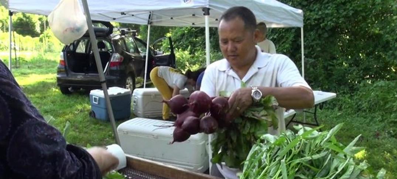 Agricultores Refugiados Echan Nuevas Raíces en Estados Unidos