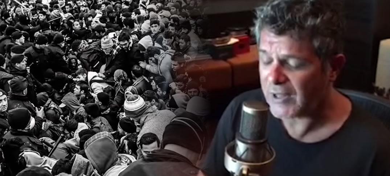 Alejandro Sanz le Canta a los Refugiados