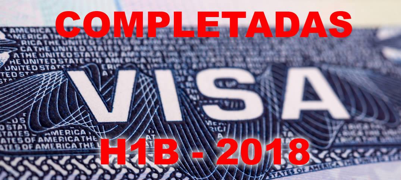 Alcanzada Cantidad de Visas H1B para el Año 2018