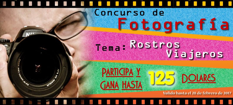 """Concurso de Fotografía """"Rostros Viajeros"""""""