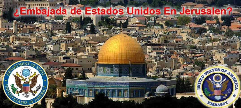 """¿Qué es la """"Ley de la Embajada en Jerusalén"""" de Estados Unidos?"""