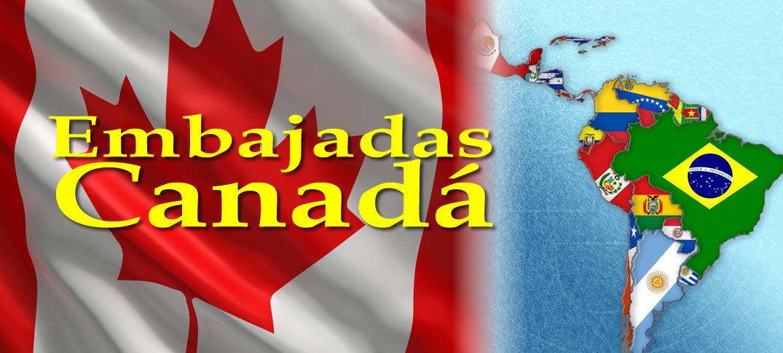 Embajadas y Consulados de Canadá