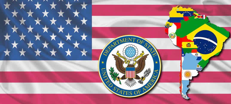 Embajadas y Consulados de los Estados Unidos en Suramérica