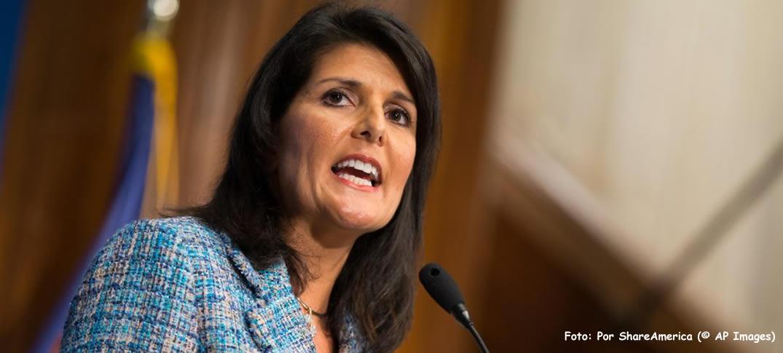 Donald Trump Nomina a Hija de Inmigrantes Embajadora de EEUU ante las Naciones Unidas