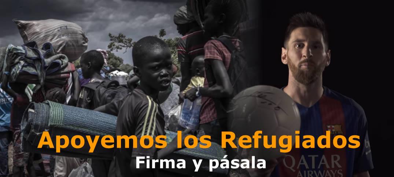 Apoyemos a Los Refugiados Con La Campaña #SignAndPass