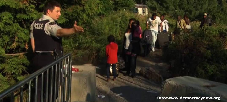 Inmigrantes Haitianos Huyen de Estados Unidos y Buscan Asilo en Canadá