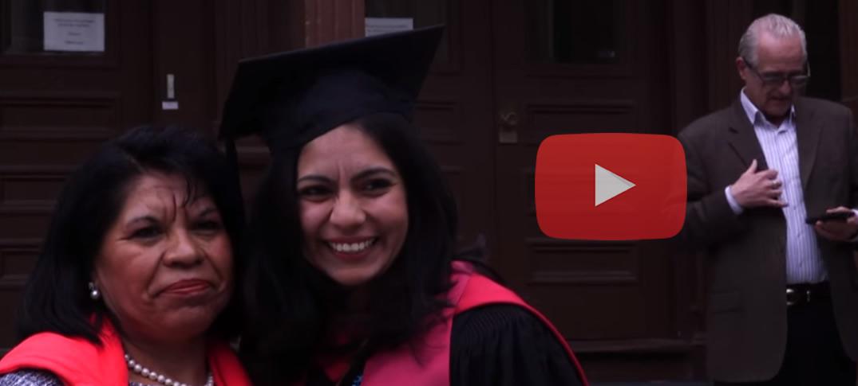 Hija de Indocumentada se Gradúa en Harvard