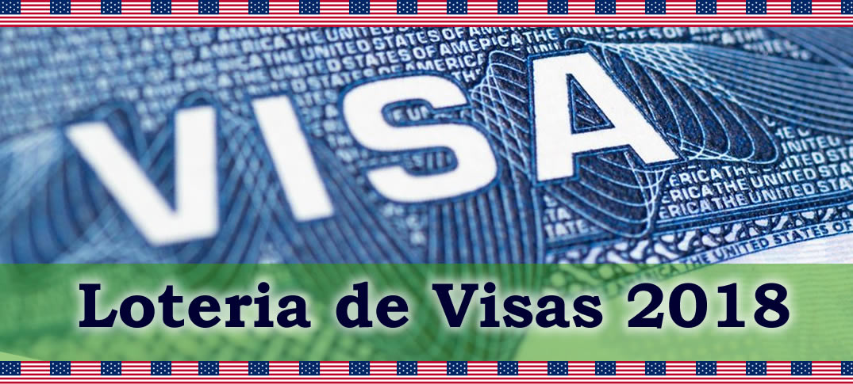 Inscripciones Abiertas Lotería de Visas 2018
