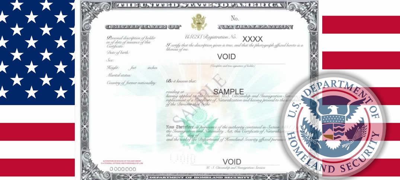 Estados Unidos Rediseña Certificados De Ciudadanía y Naturalización