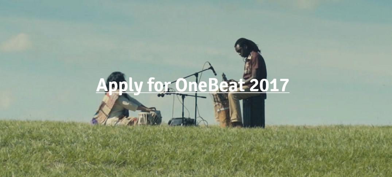 Inscripciones Abiertas al Programa One Beat 2017; Una Residencia Artística y de Estudio en Estados Unidos
