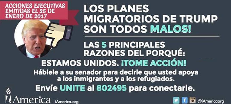 Planes Migratorios de Donald Trump son Todos Malos