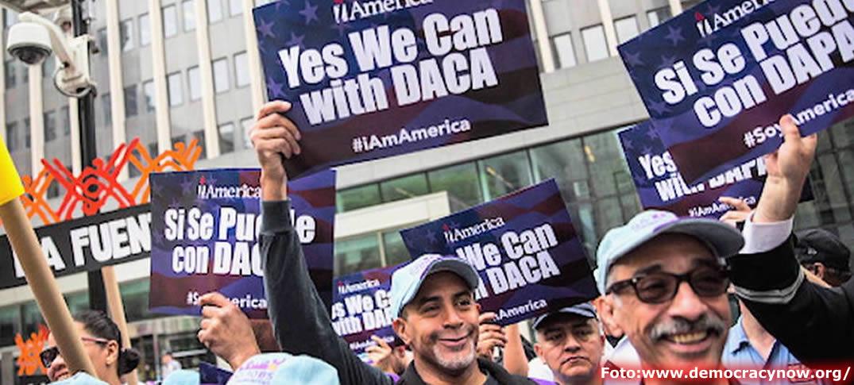 Acuerdo Entre Demócratas y Donald Trump Para Proteger a los Jóvenes Inmigrantes