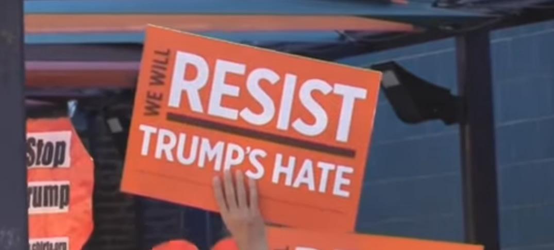 Con Protestas, Inmigrantes Piden a Donald Trump Que Abandone Su Política Agresiva