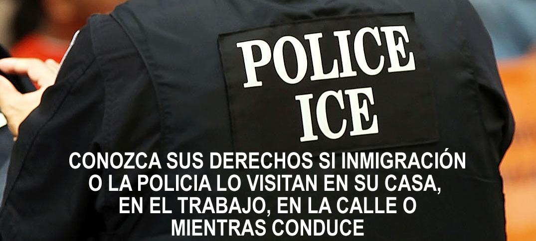 Recomendaciones de Cómo Actuar Ante Agentes De Inmigración