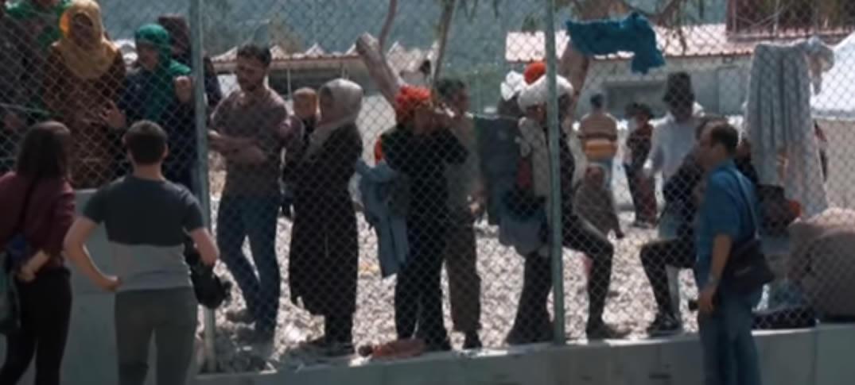 Más de 5.000 Refugiados están Bloqueados en Lesbos