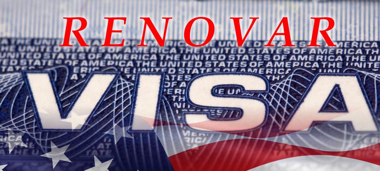 Cambian Requisitos Para Renovación de Visas a Estados Unidos