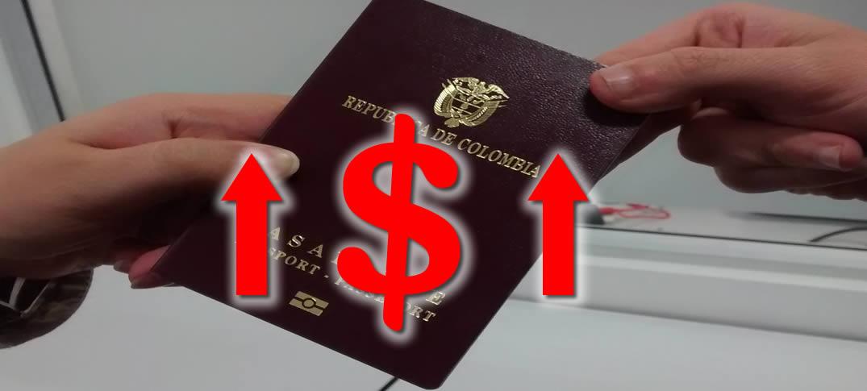 Aumentan Tarifas de Pasaportes en Colombia