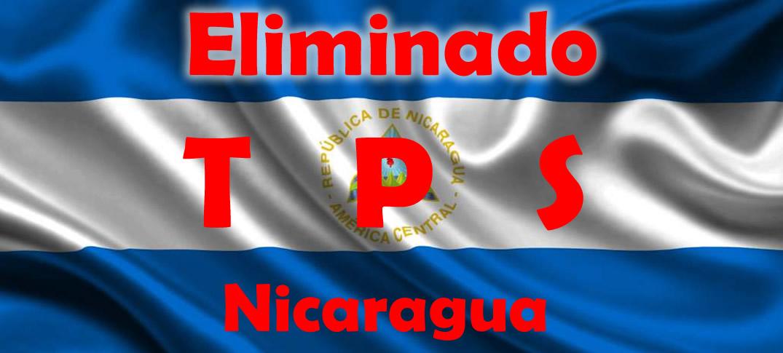 Estados Unidos Termina Con El Estatus de Protección Temporal (TPS) Para Nicaragüenses