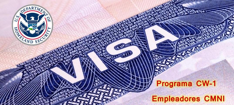 Cantidad Límite de Solicitudes de Visas para Trabajadores Transitorios CNMI