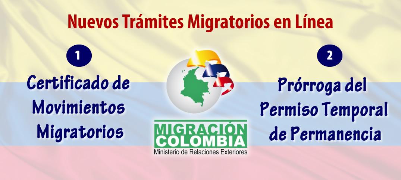 Migración Colombia Lanza Nuevos Trámites En Línea