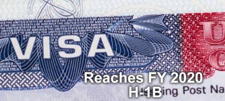 USCIS Reaches FY 2020 H-1B Regular Cap