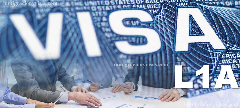 Visa L-1A para Transferencias de Ejecutivos o Gerentes en Estados Unidos
