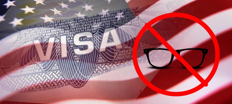 Fotografías Para El Trámite De Visa De Los EE.UU Deberán Ser Sin Anteojos