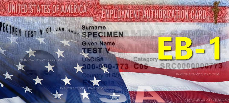 Inmigración A Estados Unidos Basada En Empleo: Primera Preferencia EB-1