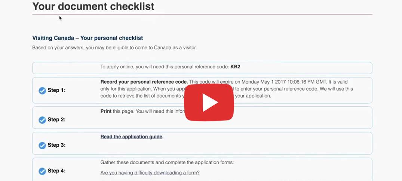 Guía de Como solicitar la Visa de Turismo en Canadá On-Line