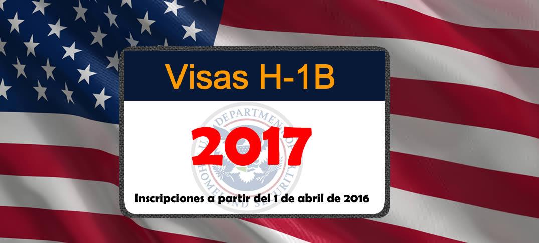 Peticiones H-1B para el Año Fiscal 2017