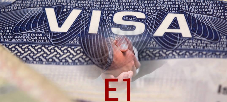 Visado E-1 Comerciantes por Tratado Comercial en Estados Unidos