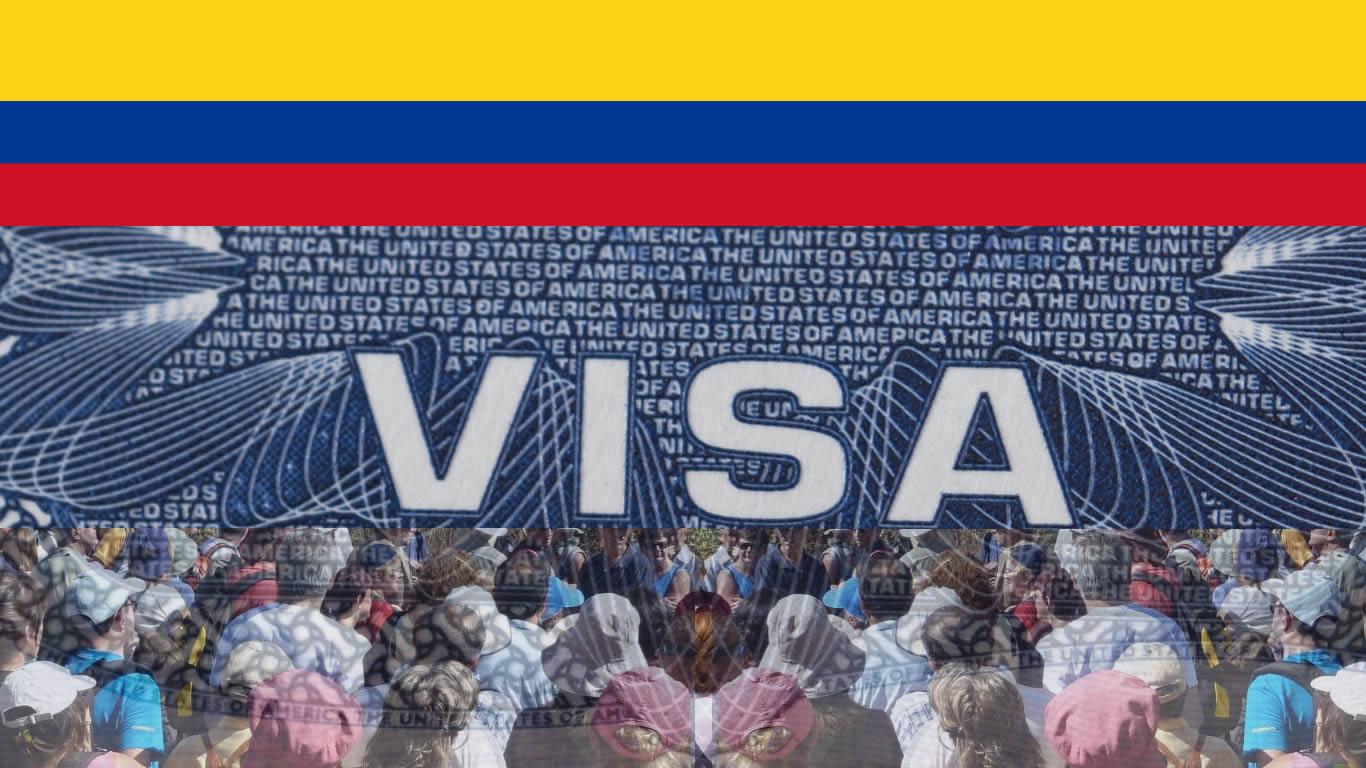 visa grupos colombianos